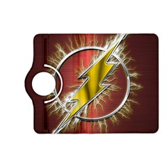 Flash Flashy Logo Kindle Fire Hd (2013) Flip 360 Case by Onesevenart