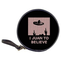 I Juan To Believe Ugly Holiday Christmas Black Background Classic 20 Cd Wallets by Onesevenart