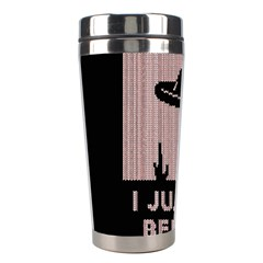 I Juan To Believe Ugly Holiday Christmas Black Background Stainless Steel Travel Tumblers by Onesevenart