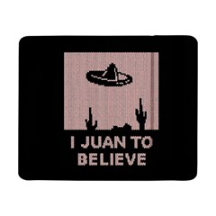 I Juan To Believe Ugly Holiday Christmas Black Background Samsung Galaxy Tab Pro 8 4  Flip Case by Onesevenart
