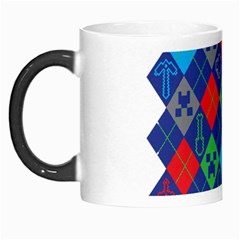 Minecraft Ugly Holiday Christmas Morph Mugs by Onesevenart