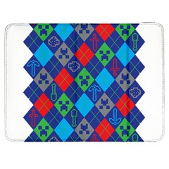 Minecraft Ugly Holiday Christmas Samsung Galaxy Tab 7  P1000 Flip Case by Onesevenart