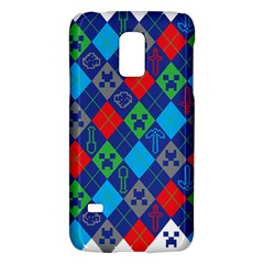Minecraft Ugly Holiday Christmas Galaxy S5 Mini by Onesevenart