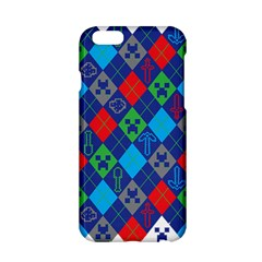 Minecraft Ugly Holiday Christmas Apple Iphone 6/6s Hardshell Case by Onesevenart