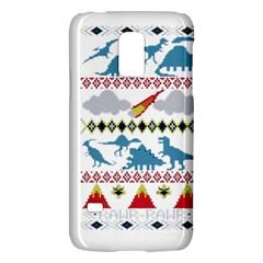 My Grandma Likes Dinosaurs Ugly Holiday Christmas Galaxy S5 Mini by Onesevenart