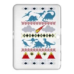 My Grandma Likes Dinosaurs Ugly Holiday Christmas Samsung Galaxy Tab 4 (10 1 ) Hardshell Case  by Onesevenart
