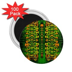 Magical Forest Of Freedom And Hope 2 25  Magnets (100 Pack)  by pepitasart