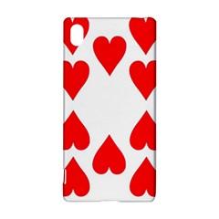 Cart Heart 10 Dieci Cuori Sony Xperia Z3+ by AnjaniArt