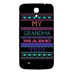 My Grandma Made This Ugly Holiday Black Background Samsung Galaxy Mega I9200 Hardshell Back Case by Onesevenart