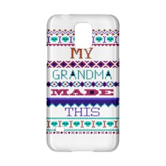 My Grandma Made This Ugly Holiday Samsung Galaxy S5 Hardshell Case  by Onesevenart