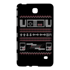 Old School Ugly Holiday Christmas Black Background Samsung Galaxy Tab 4 (8 ) Hardshell Case  by Onesevenart