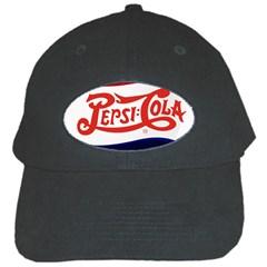 Pepsi Cola Black Cap by Onesevenart