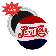 Pepsi Cola 2 25  Magnets (10 Pack)  by Onesevenart