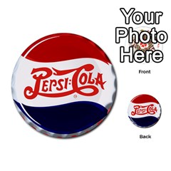 Pepsi Cola Multi Purpose Cards (round)  by Onesevenart