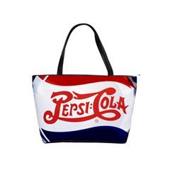 Pepsi Cola Shoulder Handbags by Onesevenart