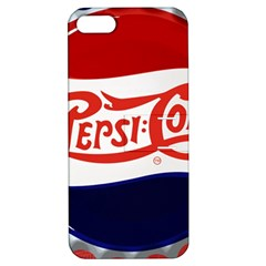 Pepsi Cola Apple Iphone 5 Hardshell Case With Stand by Onesevenart