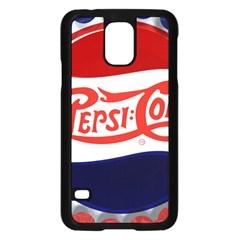 Pepsi Cola Samsung Galaxy S5 Case (black) by Onesevenart