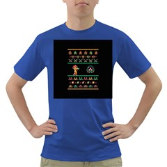 We Wish You A Metroid Christmas Ugly Holiday Christmas Black Background Dark T Shirt by Onesevenart
