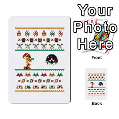 We Wish You A Metroid Christmas Ugly Holiday Christmas Multi Purpose Cards (rectangle)  by Onesevenart