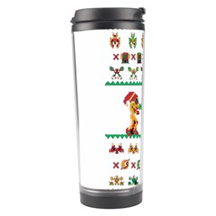 We Wish You A Metroid Christmas Ugly Holiday Christmas Travel Tumbler by Onesevenart