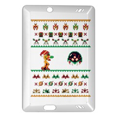 We Wish You A Metroid Christmas Ugly Holiday Christmas Amazon Kindle Fire Hd (2013) Hardshell Case by Onesevenart