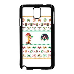 We Wish You A Metroid Christmas Ugly Holiday Christmas Samsung Galaxy Note 3 Neo Hardshell Case (black) by Onesevenart