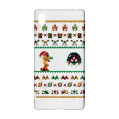 We Wish You A Metroid Christmas Ugly Holiday Christmas Sony Xperia Z3+ by Onesevenart