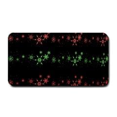 Decorative Xmas Snowflakes Medium Bar Mats by Valentinaart