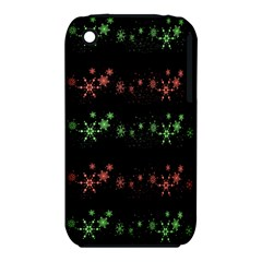 Decorative Xmas Snowflakes Apple Iphone 3g/3gs Hardshell Case (pc+silicone) by Valentinaart