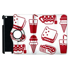 Mad Ice Ernies Tea Bred Apple Ipad 2 Flip 360 Case by AnjaniArt