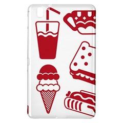 Mad Ice Ernies Tea Bred Samsung Galaxy Tab Pro 8 4 Hardshell Case by AnjaniArt