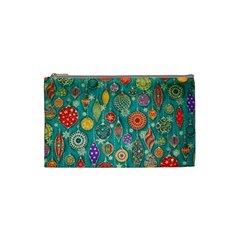 Ornaments Homemade Christmas Ornament Crafts Cosmetic Bag (small)  by AnjaniArt