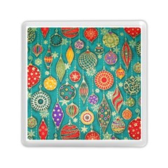 Ornaments Homemade Christmas Ornament Crafts Memory Card Reader (square)  by AnjaniArt