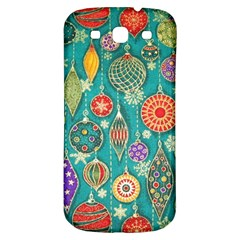 Ornaments Homemade Christmas Ornament Crafts Samsung Galaxy S3 S Iii Classic Hardshell Back Case by AnjaniArt
