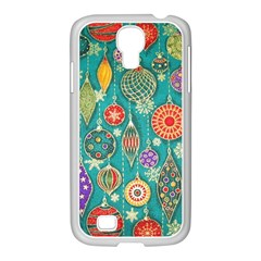 Ornaments Homemade Christmas Ornament Crafts Samsung Galaxy S4 I9500/ I9505 Case (white) by AnjaniArt