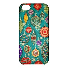 Ornaments Homemade Christmas Ornament Crafts Apple Iphone 5c Hardshell Case by AnjaniArt
