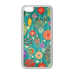 Ornaments Homemade Christmas Ornament Crafts Apple Iphone 5c Seamless Case (white) by AnjaniArt