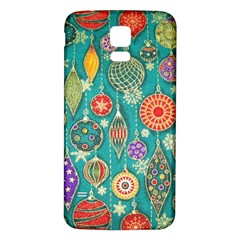 Ornaments Homemade Christmas Ornament Crafts Samsung Galaxy S5 Back Case (white) by AnjaniArt