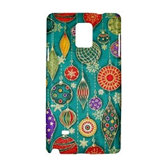 Ornaments Homemade Christmas Ornament Crafts Samsung Galaxy Note 4 Hardshell Case by AnjaniArt