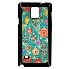 Ornaments Homemade Christmas Ornament Crafts Samsung Galaxy Note 4 Case (black) by AnjaniArt