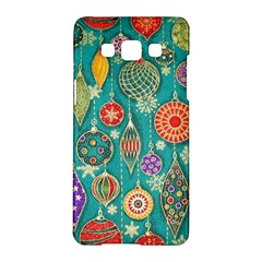 Ornaments Homemade Christmas Ornament Crafts Samsung Galaxy A5 Hardshell Case  by AnjaniArt