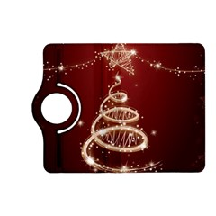 Shiny Christmas Tree Kindle Fire Hd (2013) Flip 360 Case by AnjaniArt