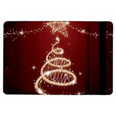 Shiny Christmas Tree Ipad Air Flip by AnjaniArt