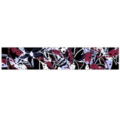 Decorative Abstract Floral Desing Flano Scarf (large) by Valentinaart