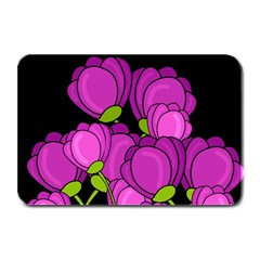 Purple Tulips Plate Mats by Valentinaart