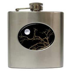 Nature Dark Scene Hip Flask (6 Oz) by dflcprints