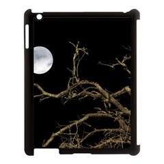 Nature Dark Scene Apple Ipad 3/4 Case (black) by dflcprints