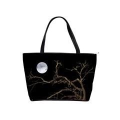Nature Dark Scene Shoulder Handbags by dflcprints