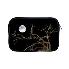 Nature Dark Scene Apple Ipad Mini Zipper Cases by dflcprints
