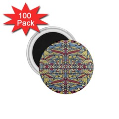 Multicolor Abstract 1 75  Magnets (100 Pack)  by dflcprintsclothing